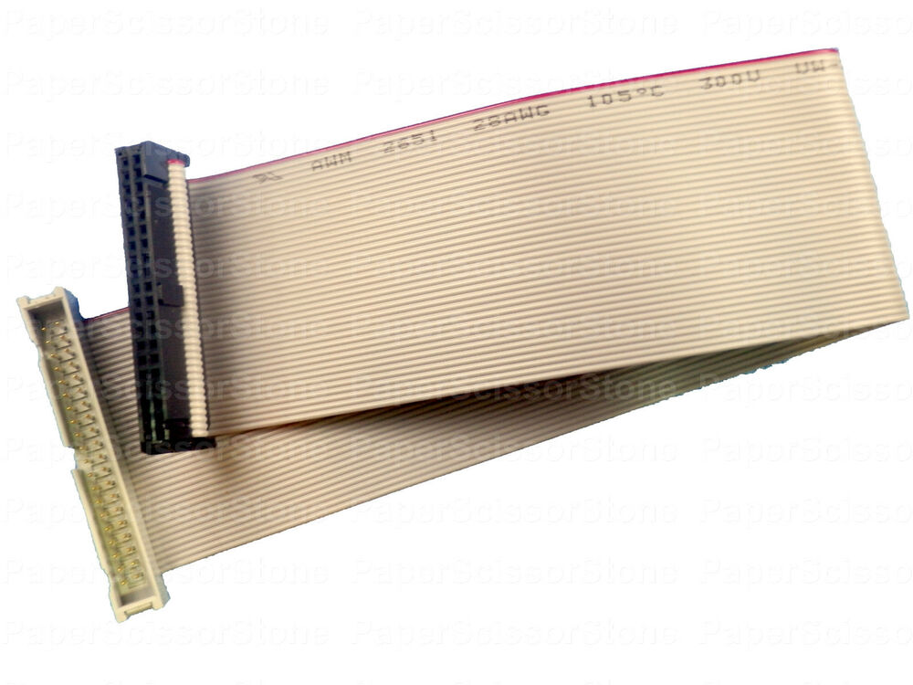 Ide Ribbon Cable : Pin ft inch ide flat ribbon male female