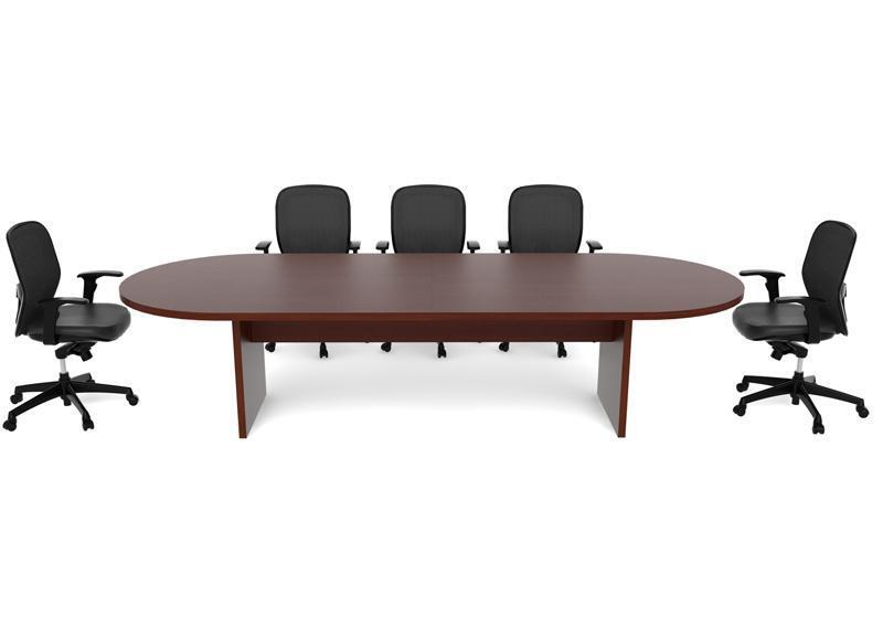 10 foot racetrack conference table cherryman amber series for 10 foot conference table