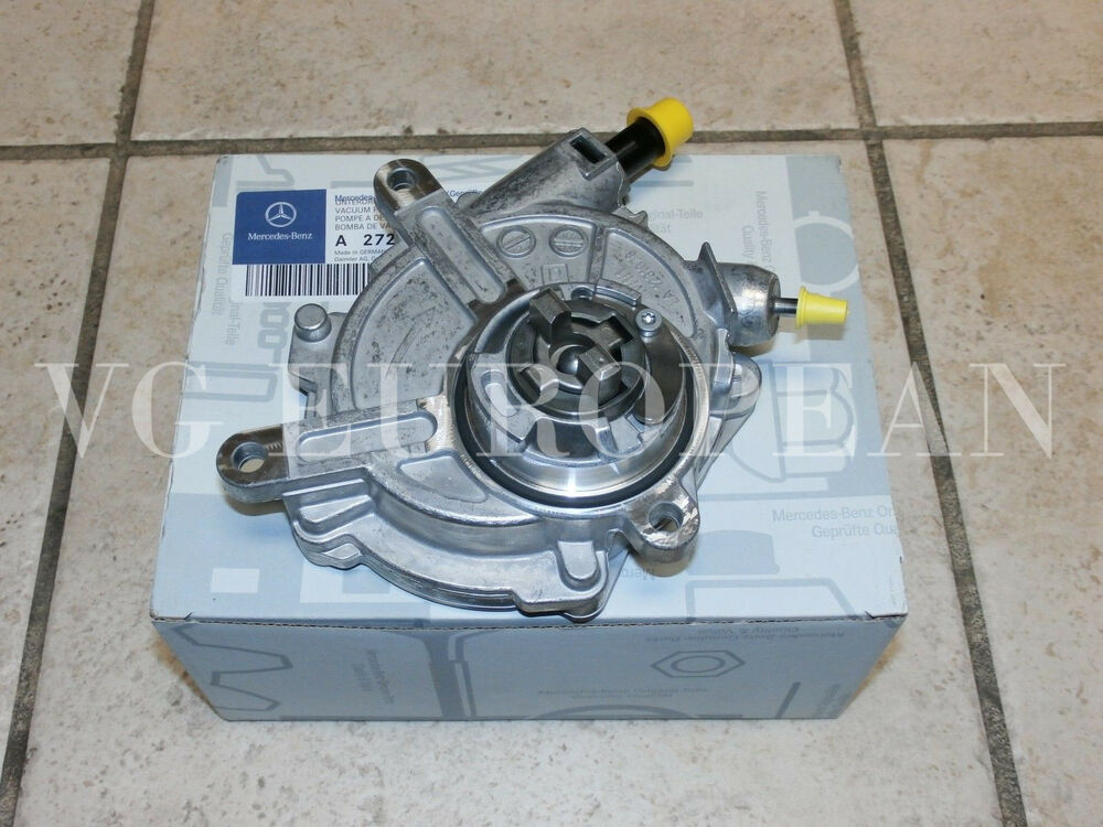 mercedes benz c e slk class genuine engine vacuum pump