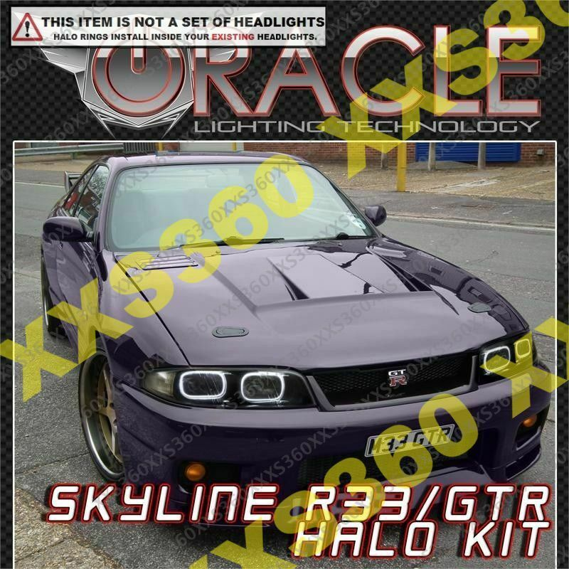 Oracle For Nissan Skyline Jdm R33 Gts Gtr White Led