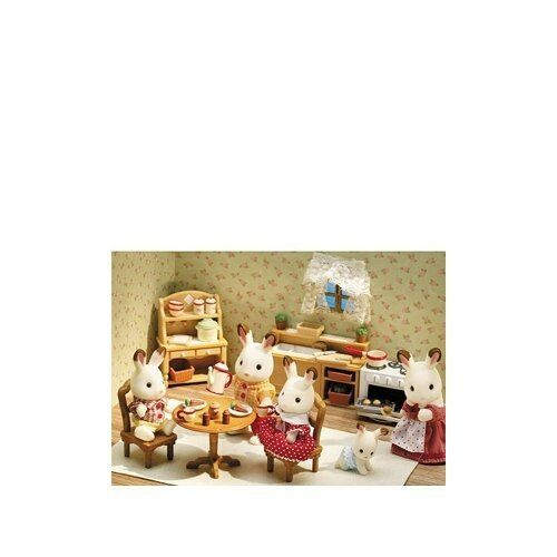 Calico Critters Deluxe Kitchen Set , New, Free Shipping
