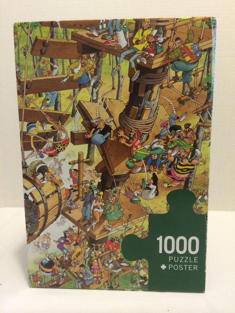1000 Pieces HEYE Puzzle + Poster