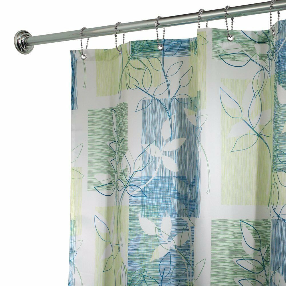 Interdesign botanical shower curtain 72 inch by 72 inch for Inter designs