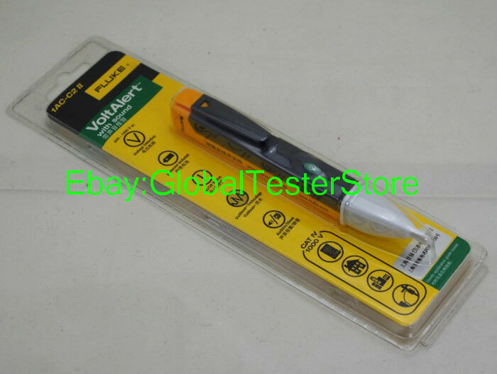 Fluke Voltage Detector : Fluke ac c ii v voltalert non contact voltage