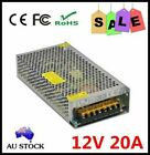 DC 12V 5A AU PLUG POWER SUPPLY ADAPTER CHARGER FOR 3528 5050 RGB LED STRIP LIGHT