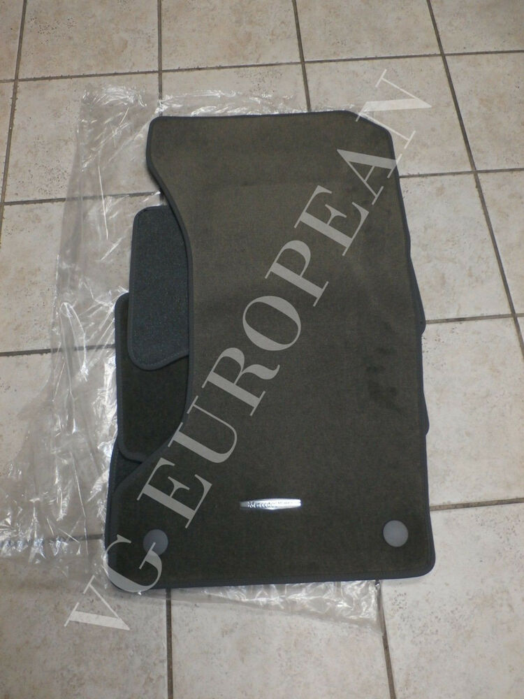 mercedes benz w211 e class genuine carpeted floor mat set