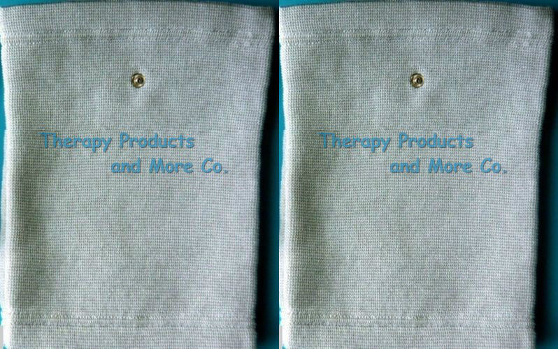 Pair Of Conductive Knee Pads For Arthritis And Neuropathy