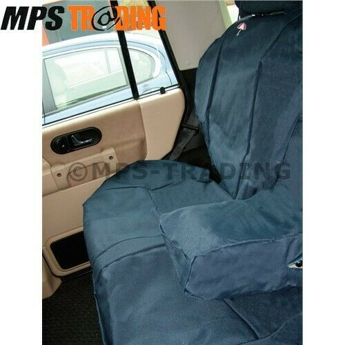 LAND ROVER DISCOVERY 2 REAR WATERPROOF BLUE SEAT COVERS