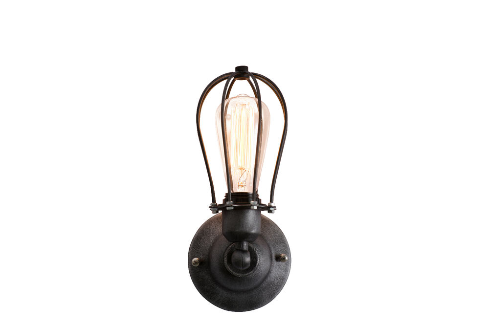 New Retro Wall Lamp Vintage Industrial Cage Light Wall Sconce eBay
