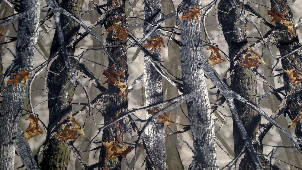 """88c38b08413 Details about XD3 True Timber Camo Twill Fabric Cotton Poly Blend Canvas  60"""" W Camouflage DWR"""