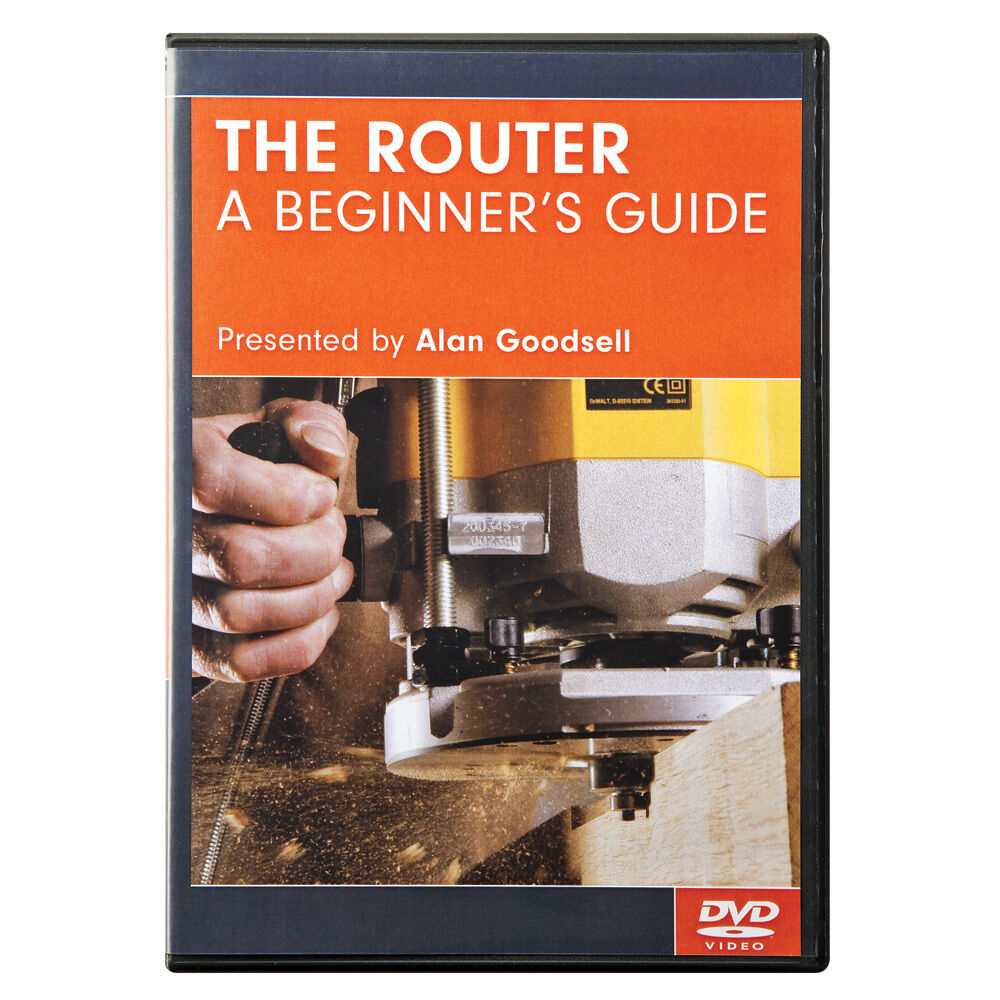 Dvd router beginner 39 s guide 9781565234123 ebay for Woodworking guide