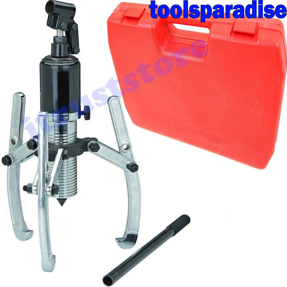 Heavy Duty Hydraulic Bearing Puller : Ton large heavy duty hydraulic gear jaw rotor hub