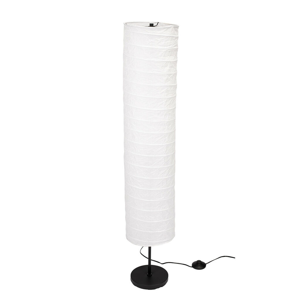 ikea holm papier stehlampe standleuchte standlampe stehleuchte 117cm neu lampe ebay. Black Bedroom Furniture Sets. Home Design Ideas