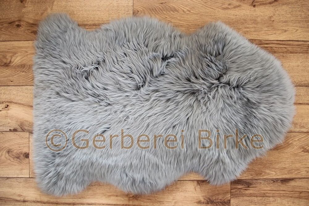 lammfell schaf fell grau i waschbar sheepskin von der. Black Bedroom Furniture Sets. Home Design Ideas