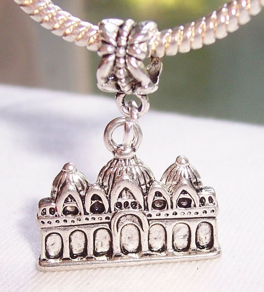 European Charm Bracelets: St. Mark's Basilica Venice Italy Church Dangle Bead For