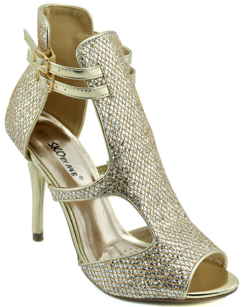 Amazing Diamond Evening Party ShoesFashion Women High Heels ShoesDouble