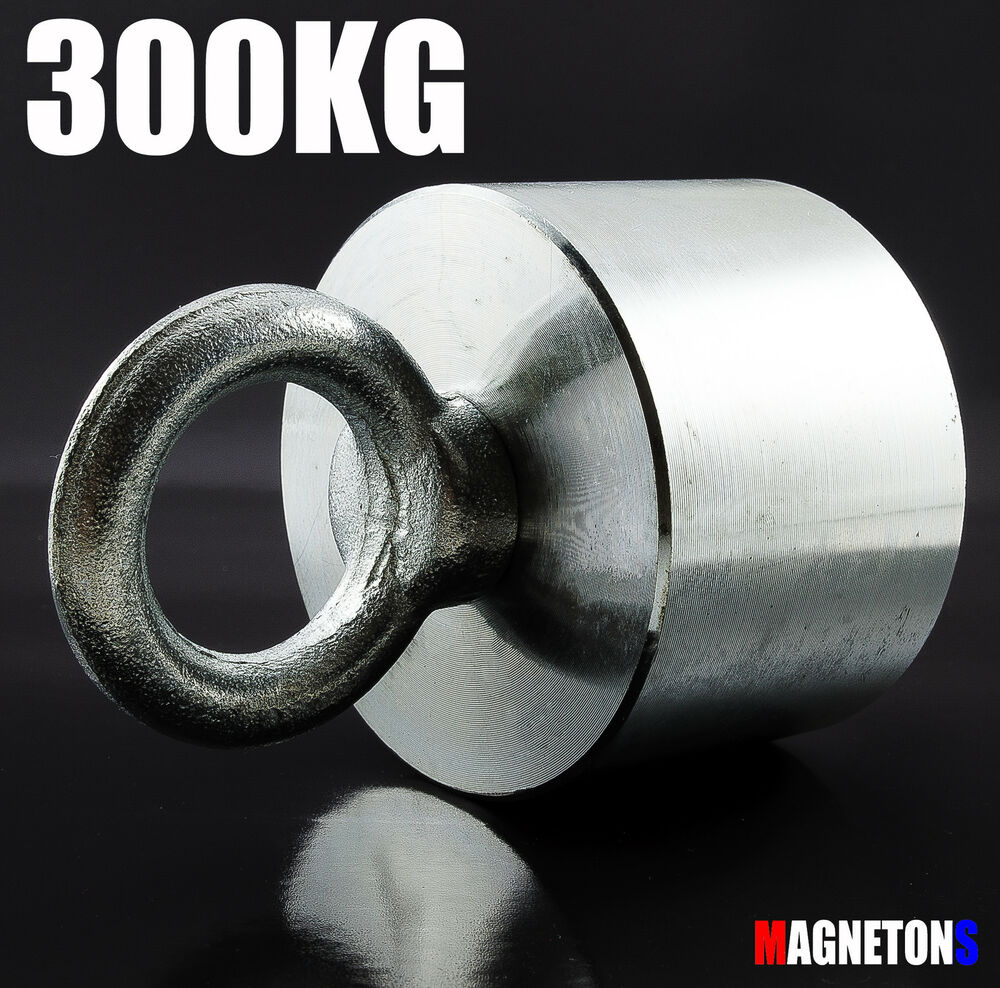 Neodymium 70x30 300kg pull magnet fishing pot metal for Magnet fishing tips