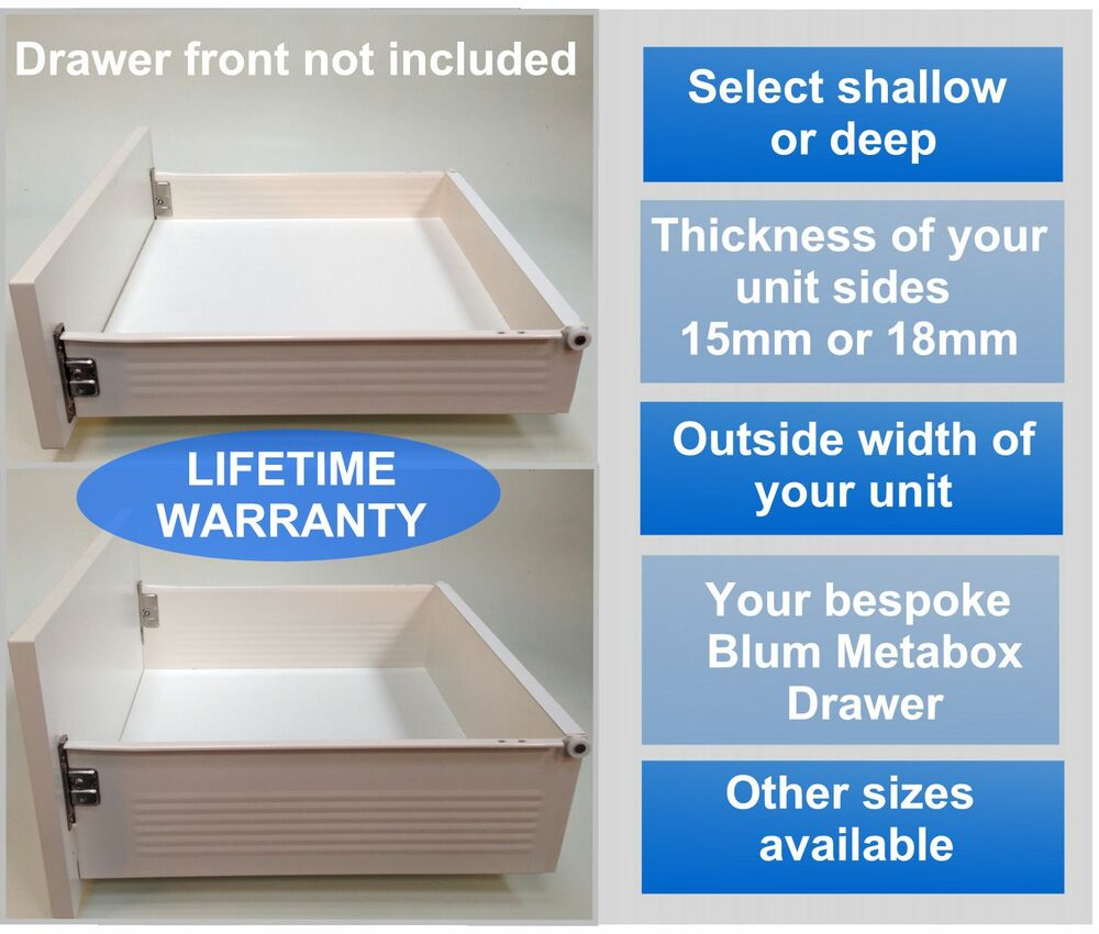 Kitchen Cabinet Drawer Kits: Replacement Kitchen Drawers Complete Drawer Box Kit, ALL