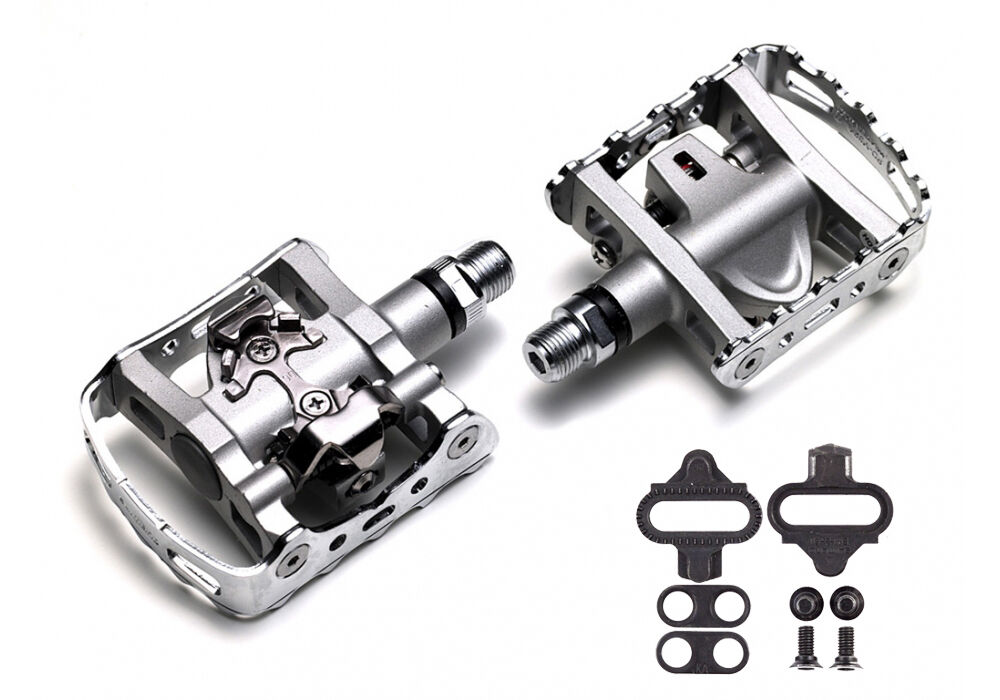 Shimano M647 SPD Mountain Bike MTB Clipless Pedals Includes SH51 Cleats