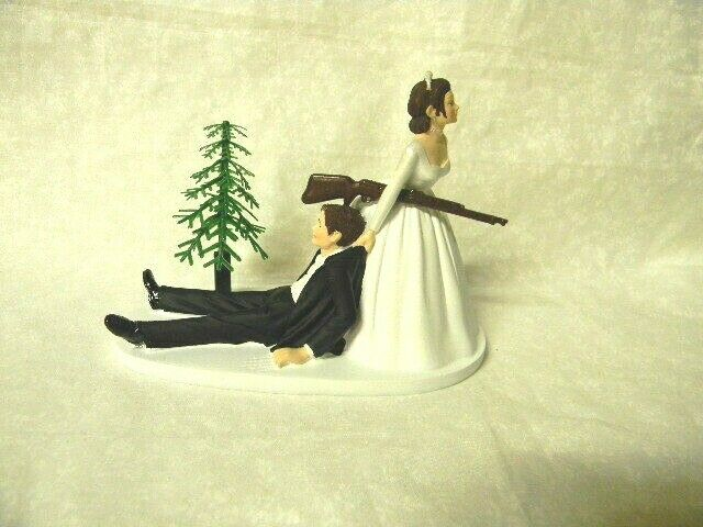 hunter wedding cake toppers wedding reception cake topper both 16209