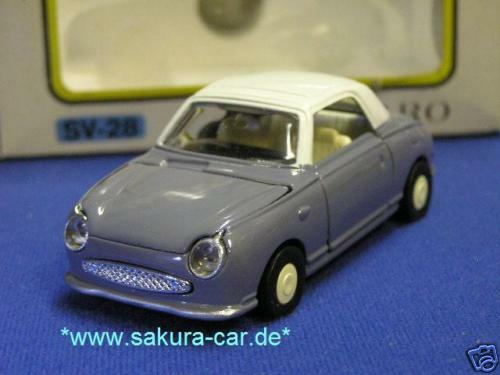 nissan figaro 1 40 diecast model lapis diapet mib ebay. Black Bedroom Furniture Sets. Home Design Ideas