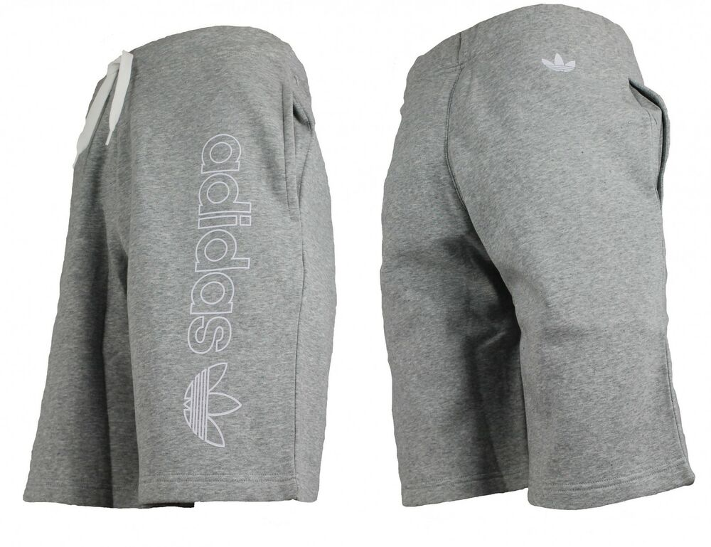 adidas originals herren fleece logo short kurze hose. Black Bedroom Furniture Sets. Home Design Ideas