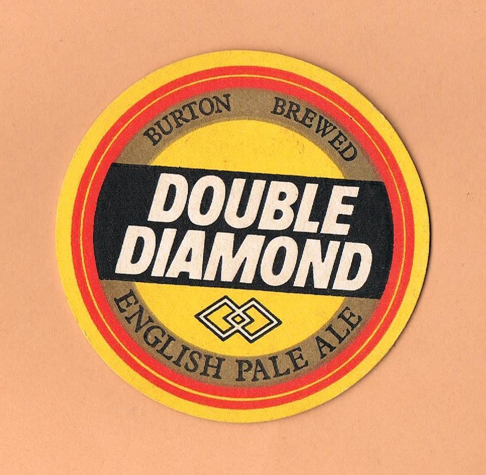 Beer United Kingdom  city pictures gallery : ... Double Diamond Ale Beer Mat Coaster England United Kingdom | eBay