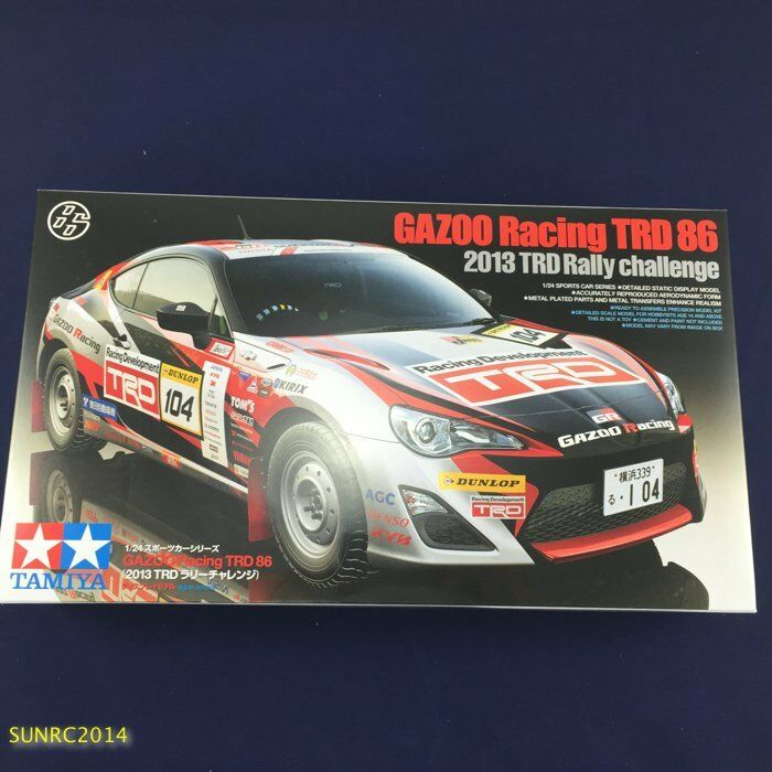 Tamiya 24337 1/24 Gazoo Racing TRD 86 (2013 TRD Rally