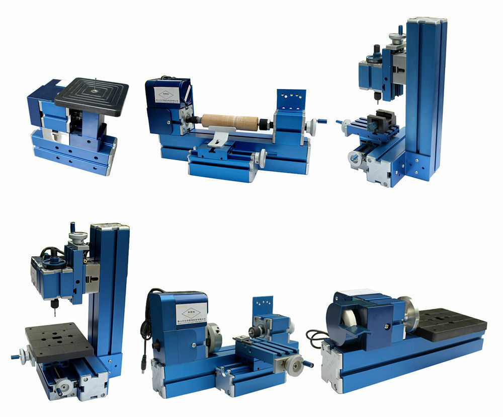 Lathe Machine Mini Metal 6 in...