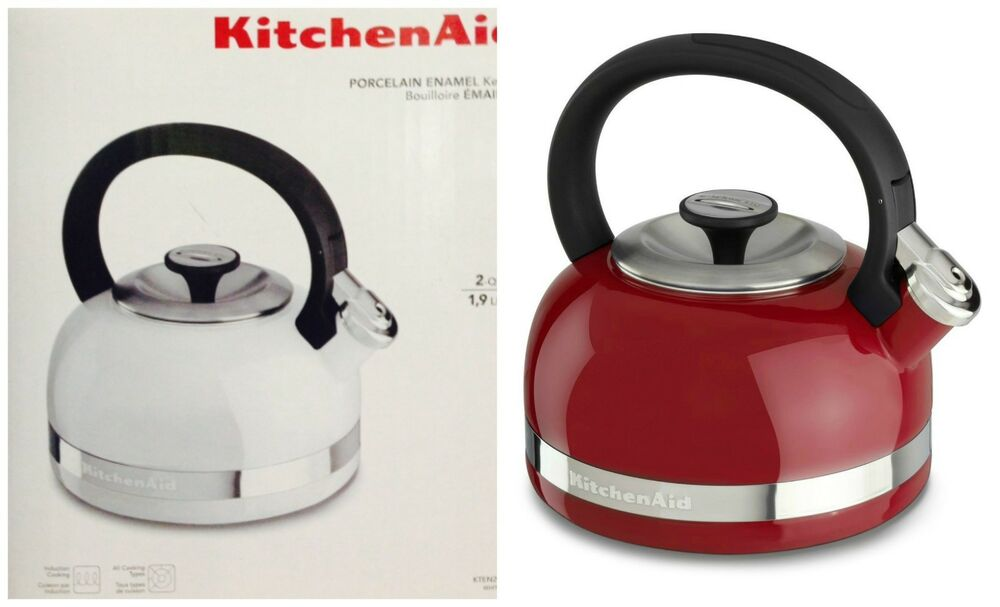 Kitchen Aid Whistling Tea Kettle