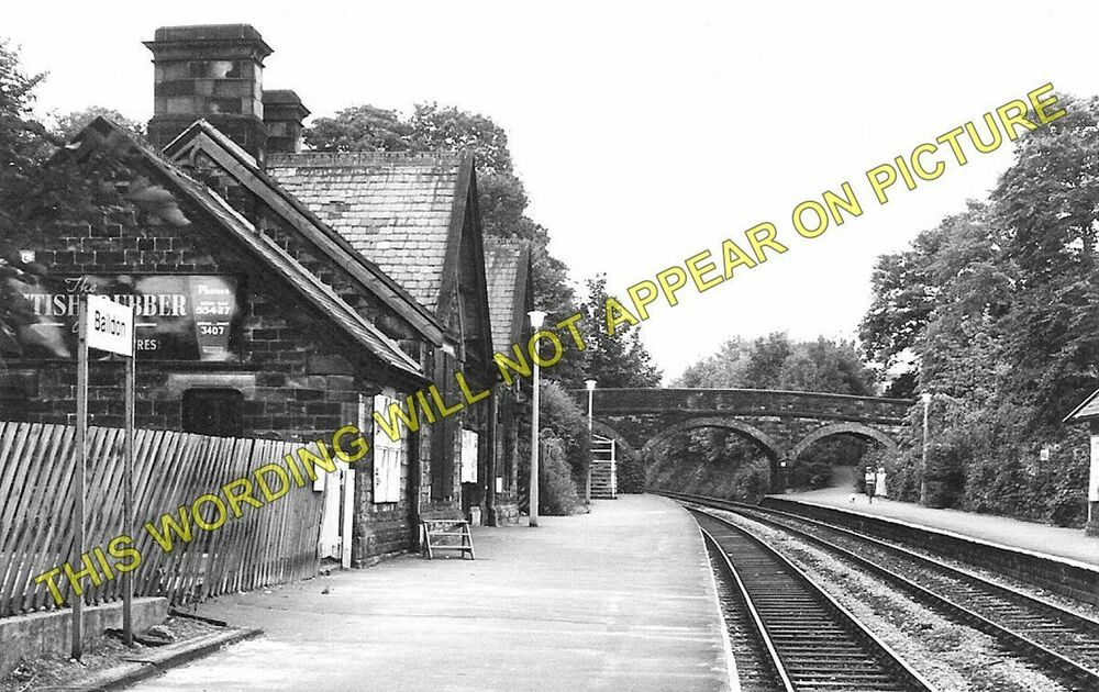 baildon railway station photo shipley esholt guiseley. Black Bedroom Furniture Sets. Home Design Ideas