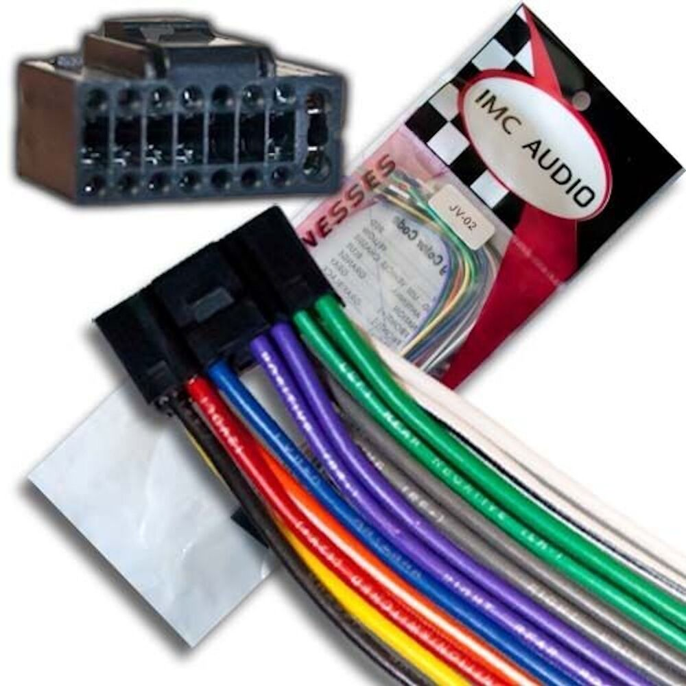 Jvc Kd Car Stereo Wiring Harness Simple Guide About Diagram Scully Groundhog System Wire Kdlx50 Kds27 Kds26 Kdx50bt Kdr810 Kdx80bt R650