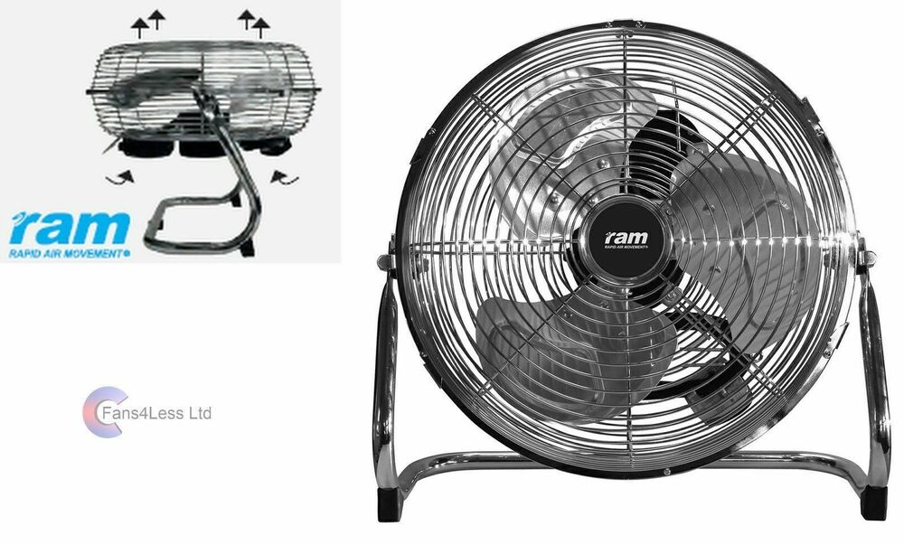 9 Quot 12 Quot 16 Quot Ram Floor Air Circulator 2 Amp 3 Speed Quiet Tent