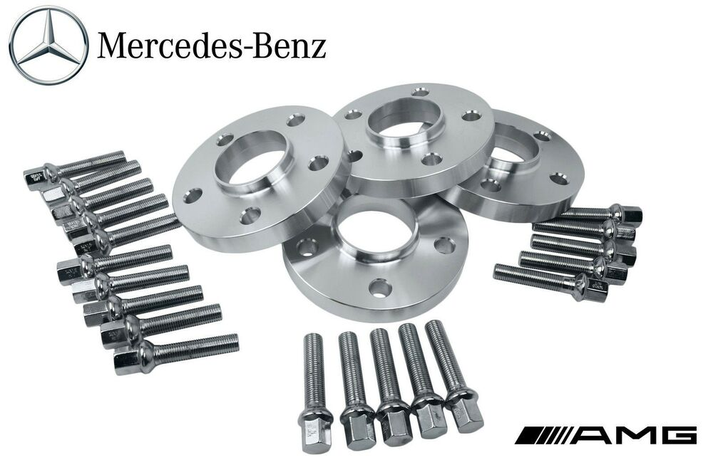 4 mercedes benz 5x112 staggered 12 mm 20 mm hub centric for Wheel spacers for mercedes benz