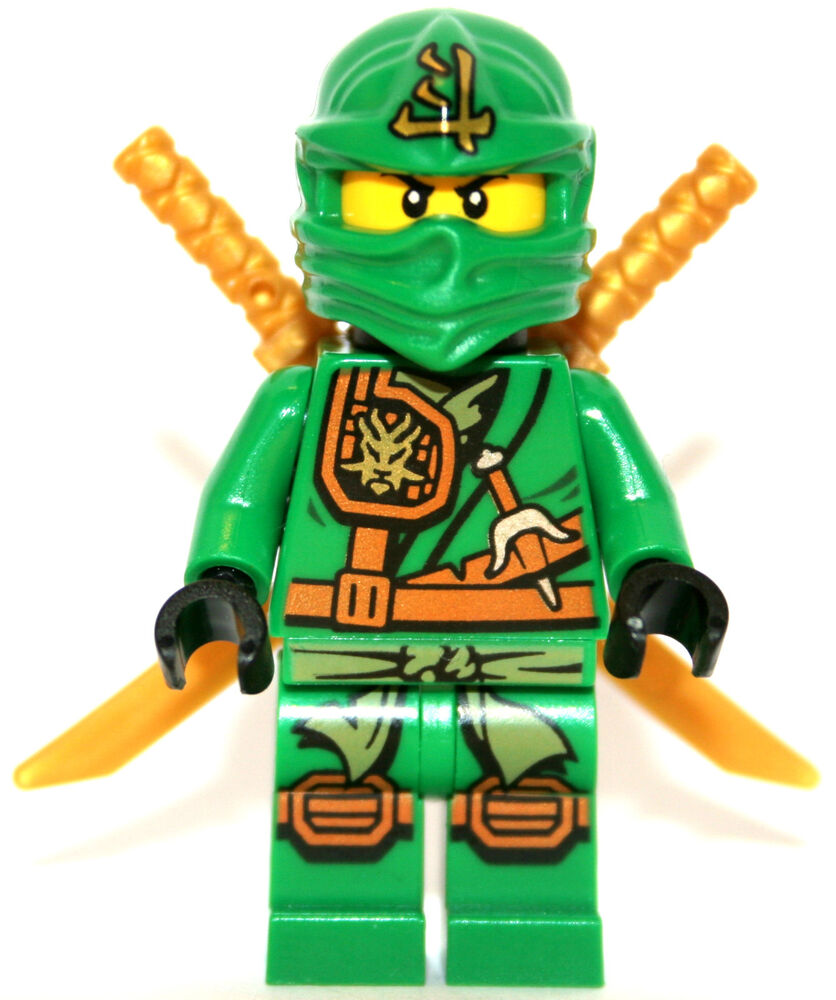 Lego Ninjago 70749 Lloyd the Green Ninja Minifigure 2015 ...
