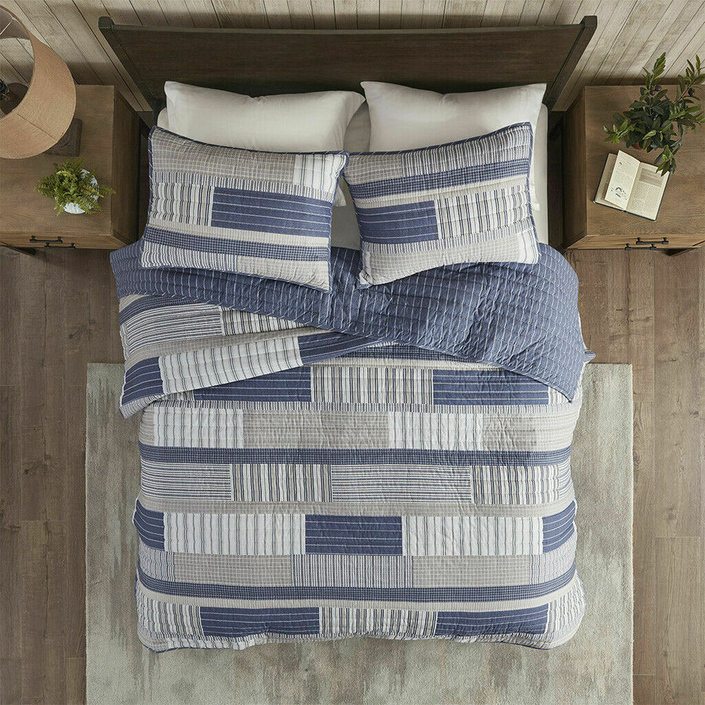 Elegant Bedroom Furniture Sets: BEAUTIFUL 8PC MODERN ELEGANT GREY PURPLE LEAF BRANCH BED