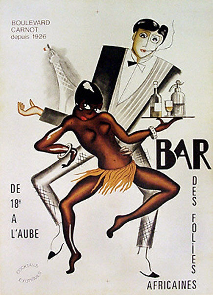 Bar by Paul Colin 1927. African-American Jazz Singer ...