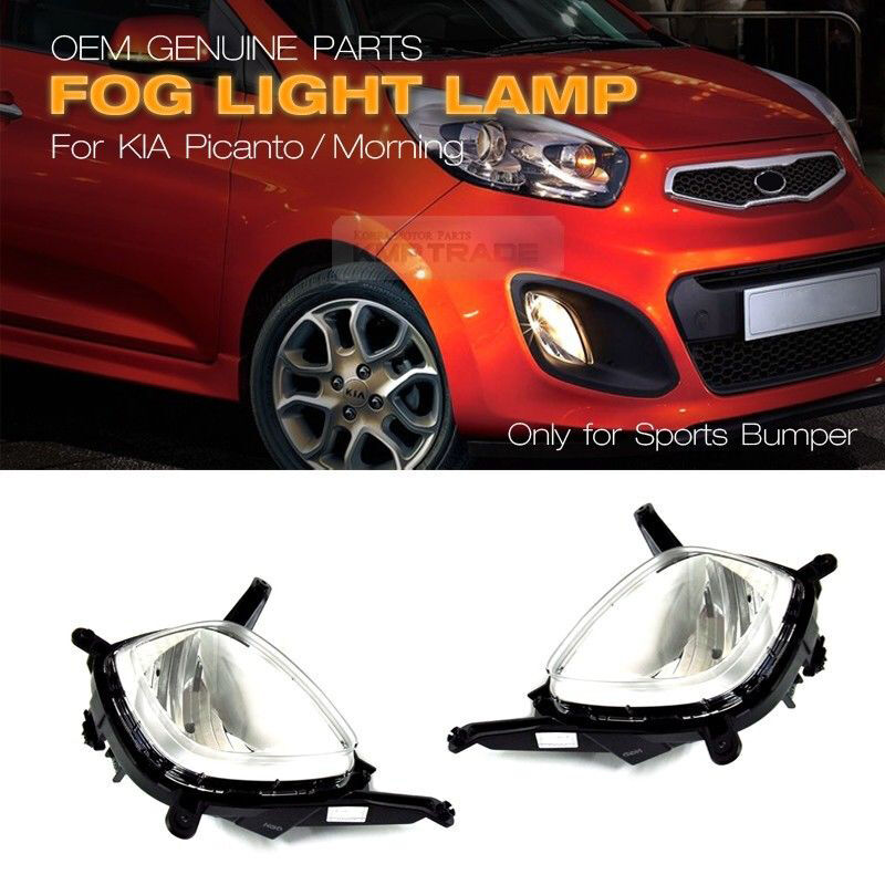 Genuine Parts Front Fog Light Lamp Assy Lh Rh For Kia 2011
