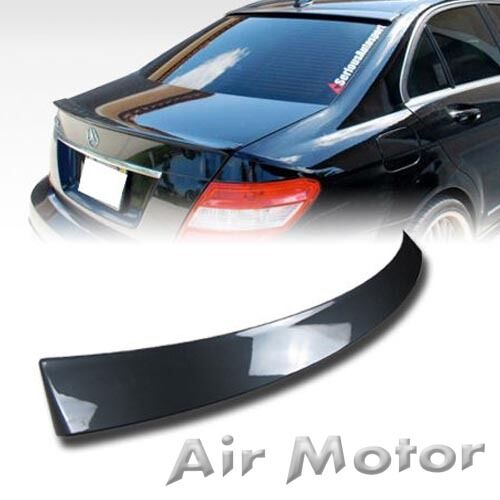 Painted mercedes benz oem roof spoiler 2008 2013 w204 c250 for Mercedes benz c300 aftermarket accessories
