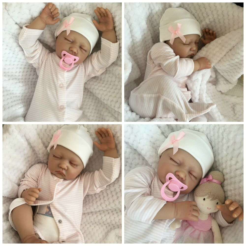 Reborn Baby Girl Doll Sophie Fake Babies Realistic Hand