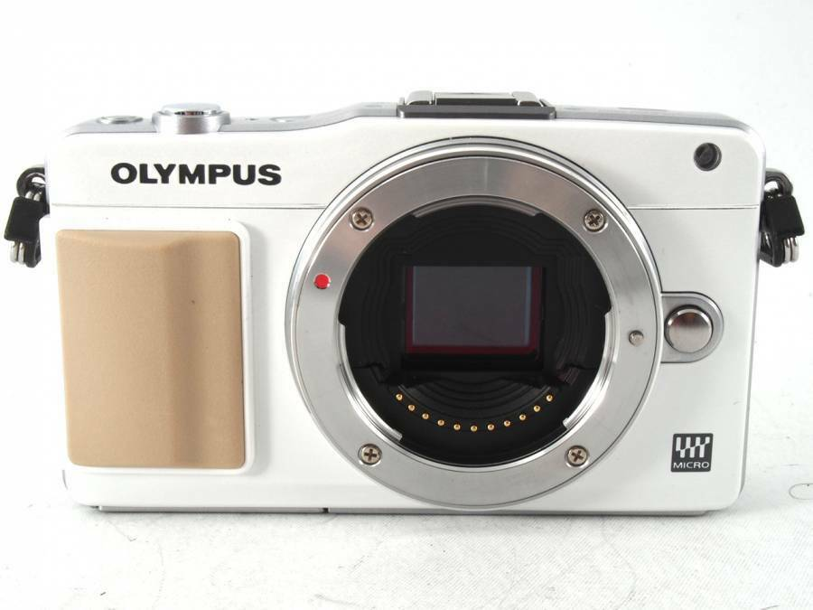 olympus pen mini e pm2 compact digital camera body white pristine 50332184329 ebay. Black Bedroom Furniture Sets. Home Design Ideas
