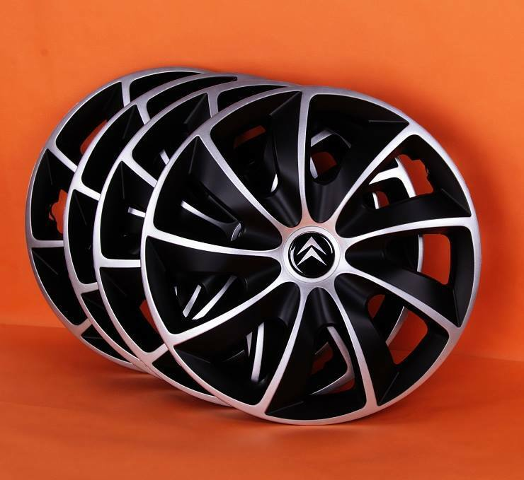 15 citroen c3 c4 c5 picasso berlingo wheel trims covers hub caps quantity 4 ebay. Black Bedroom Furniture Sets. Home Design Ideas
