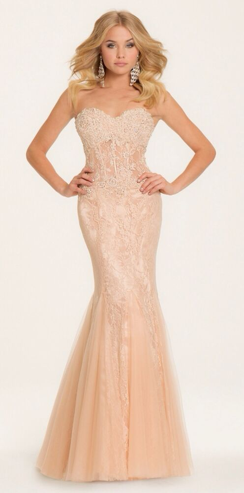 Camille La Vie mermaid bridesmaid/prom/formal dress, never ...