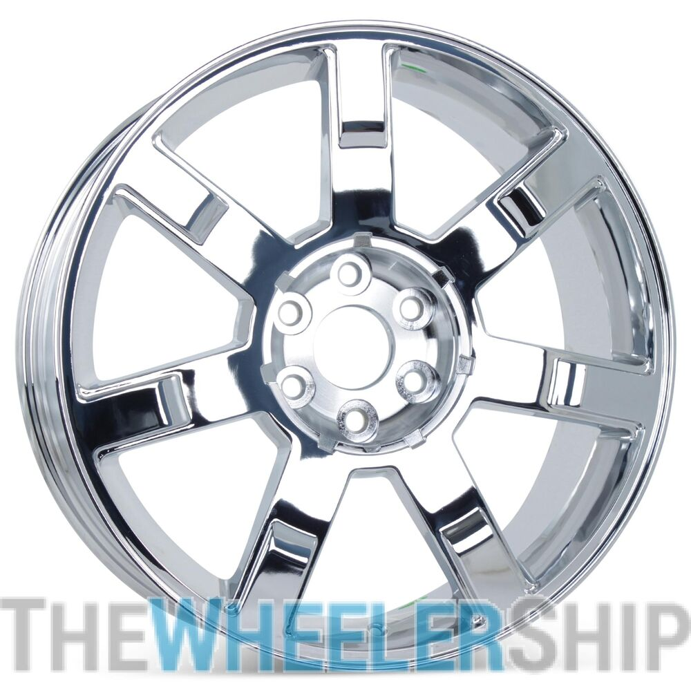 "Used Cadillac Escalade Parts For Sale: New 22"" Chrome Wheel For Cadillac Escalade ESV EXT 2007 2008 2009 2010 Rim 5309"