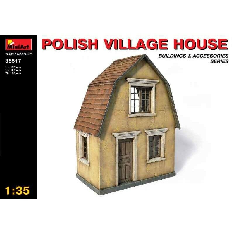 Polish Village House Wwii Diorama 1 35 Miniart 35517 Ebay