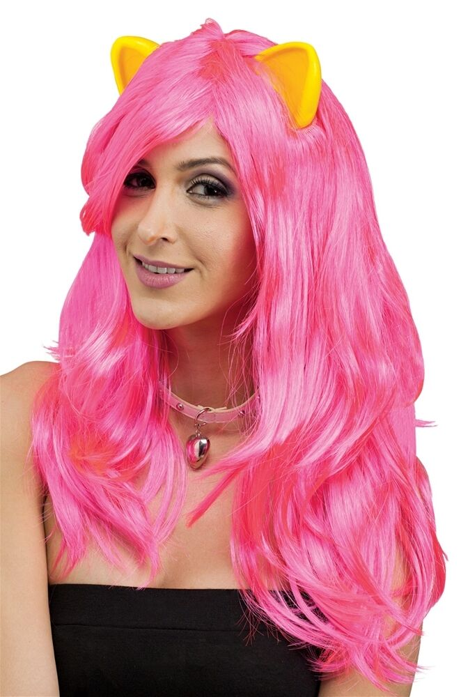 Pink Wig With Ears 61
