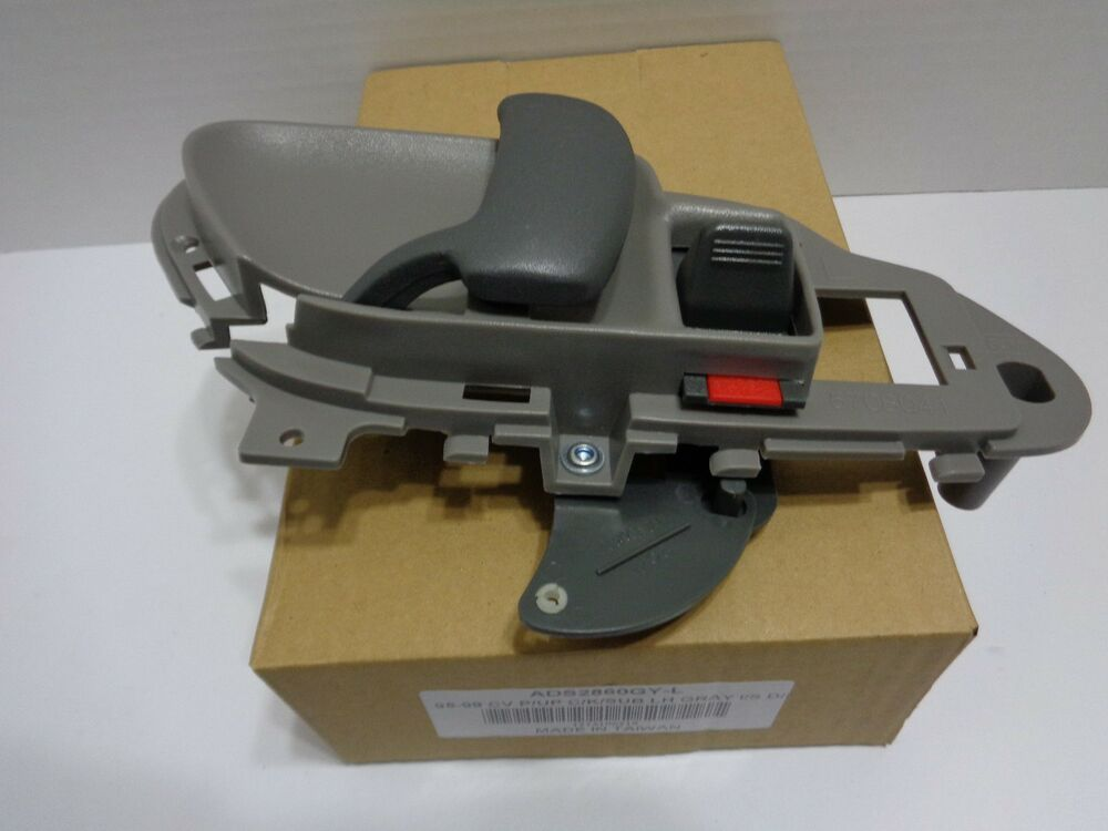95 99 chevy truck suburban blazer gmc tahoe left inner door handle gray ebay for 1999 suburban interior door handle
