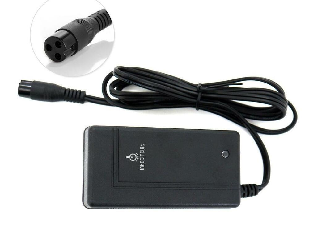 intocircuit 36w scooter battery wall charger for razor