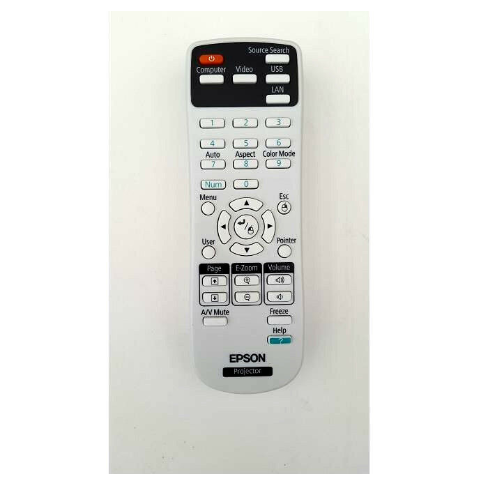 New Epson Projector Remote Control Powerlite S11 W11 X12