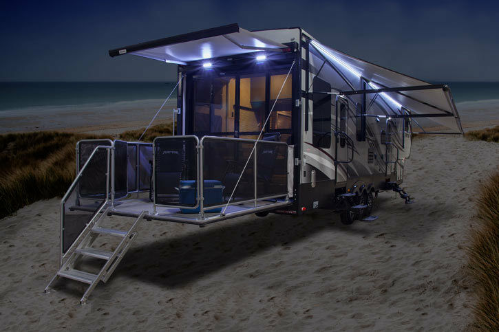 RV___AWNING___LIGHTS___LED___complete kit tent stove ...